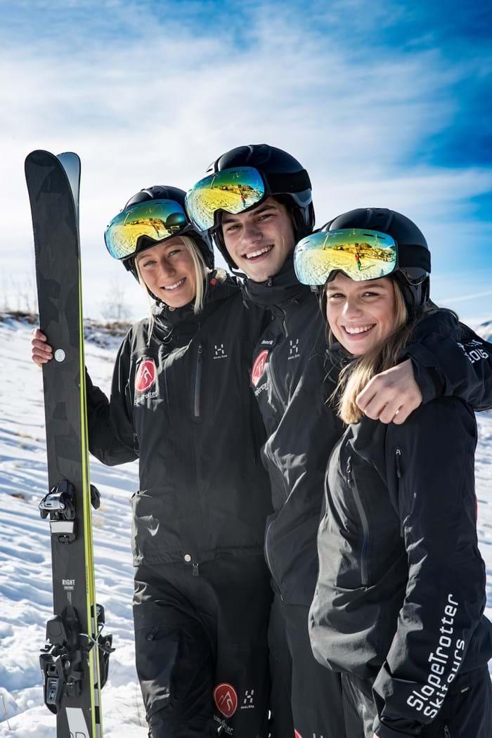 Slopetrotter guider paa ski