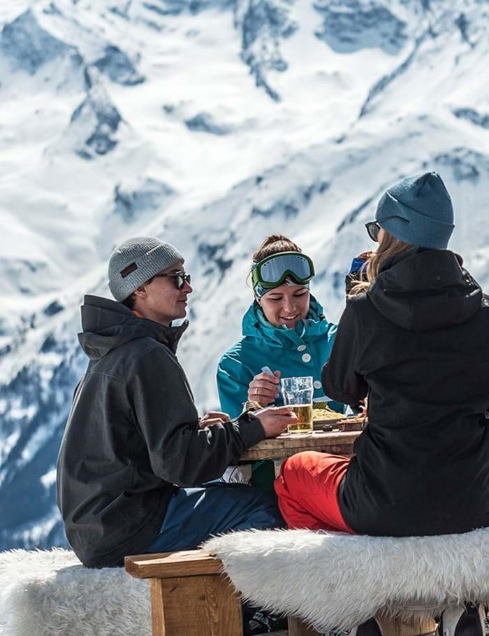 Skiferie med Danski i Alperne - skirejser til Østrig, Frankrig og Italien